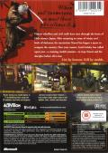 Tenchu: Return from Darkness Xbox Back Cover