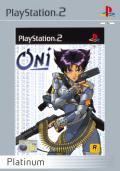 Oni PlayStation 2 Front Cover