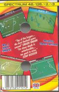 Match Day II ZX Spectrum Back Cover