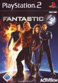 Fantastic 4 PlayStation 2 Front Cover