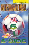 International 5-A-Side ZX Spectrum Front Cover