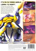 Alter Echo PlayStation 2 Back Cover