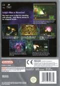 Luigi's Mansion GameCube Back Cover