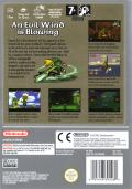 The Legend of Zelda: The Wind Waker GameCube Back Cover