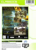 The Lord of the Rings: The Two Towers Xbox Back Cover