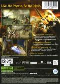The Lord of the Rings: The Return of the King Xbox Back Cover