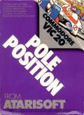 Pole Position VIC-20 Front Cover
