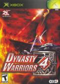 Dynasty Warriors 4 Xbox Front Cover