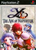 Ys VI: The Ark of Napishtim PlayStation 2 Front Cover