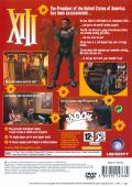 XIII PlayStation 2 Back Cover
