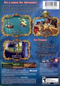 Sid Meier's Pirates! Xbox Back Cover