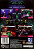 Batman Forever: The Arcade Game SEGA Saturn Back Cover