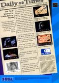 Dracula Unleashed SEGA CD Back Cover