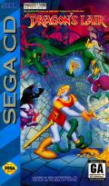 Dragon's Lair SEGA CD Front Cover