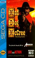 Mad Dog McCree SEGA CD Front Cover