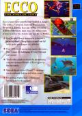 Ecco: The Tides of Time SEGA CD Back Cover