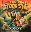 Where Time Stood Still Atari ST Front Cover