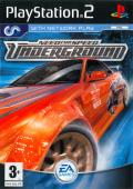 Need for Speed: Underground PlayStation 2 Front Cover