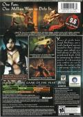 Prince of Persia: Warrior Within Xbox Back Cover