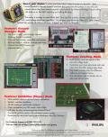 Total Control Football DOS Back Cover