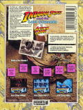 Indiana Jones and the Last Crusade: The Action Game ZX Spectrum Back Cover