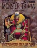 Monster Trivia Commodore 64 Front Cover