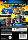 007: Agent Under Fire GameCube Back Cover