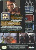 Total Recall NES Back Cover