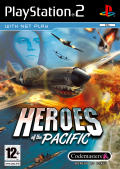 Heroes of the Pacific PlayStation 2 Front Cover