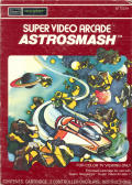 Astrosmash Intellivision Front Cover