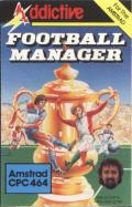 Football Manager Amstrad CPC Front Cover