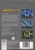 Gauntlet II NES Back Cover