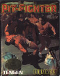Pit-Fighter Commodore 64 Front Cover