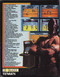 Pit-Fighter Commodore 64 Back Cover