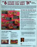 Leisure Suit Larry's Greatest Hits and Misses! DOS Back Cover