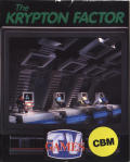 The Krypton Factor Commodore 64 Front Cover