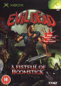 Evil Dead: A Fistful of Boomstick Xbox Front Cover