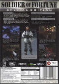 Soldier of Fortune (Platinum Edition) Windows Back Cover