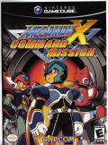 Mega Man X: Command Mission GameCube Front Cover