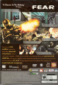 F.E.A.R.: First Encounter Assault Recon (Director's Edition) Windows Back Cover