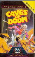 Caves of Doom ZX Spectrum Front Cover