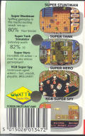 Quattro Super Hits Commodore 64 Back Cover