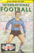 International Football ZX Spectrum Front Cover