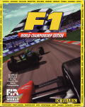 F1 World Championship Edition Amiga Front Cover