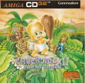 Chuck Rock II: Son of Chuck Amiga CD32 Front Cover