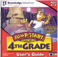 JumpStart Adventures: 4th Grade - Haunted Island Macintosh Front Cover