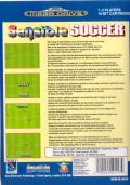Sensible Soccer: European Champions: 92/93 Edition Genesis Back Cover