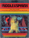 Riddle of the Sphinx Atari 2600 Front Cover