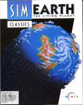 SimEarth: The Living Planet Amiga Front Cover