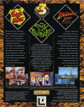 LucasArts x3 Triple Packs DOS Back Cover